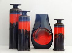 mid century west german pottery - Google Search