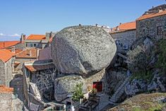 monsanto, portugal: built among rocks