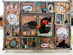 Halloween in May!  Tim Holtz Configurations Box