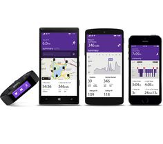 Microsoft band, the first device powered by Microsoft Health, helps you achieve your wellness goals by tracking your heart rate, steps, calorie burn, and sleep quality.