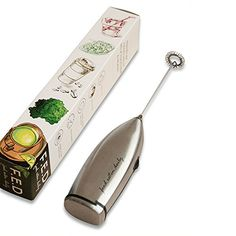 I love this milk frother. Itu0027s great for latteu0027s, salad dressings, whisking  eggs