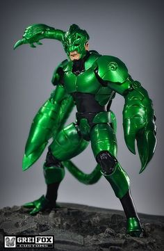 Scorpion 3rd Armor (Marvel Legends) Custom Action Figure