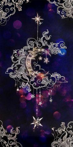 crescent moon, mandala drawings, backgrounds for girls, purple background Cellphone Wallpaper, Galaxy Wallpaper, Iphone Wallpaper, Moon And Stars Wallpaper, Cute Backgrounds, Wallpaper Backgrounds, Trendy Wallpaper, Wallpaper Ideas, Geometric Tatto