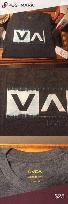 NWT RVCA Men's T-Shirt w/ Vintage Dye (Large) NWT Men's RVCA T-shirt. Super soft with vintage dye. Large. RVCA Shirts Tees - Short Sleeve