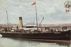 Photographic Print: Ss Rosstrevor : 24x16in Sailing Ships, Find Art, Framed Artwork, Ss, Steamer, Boats, Artist, Coasters, Catalog