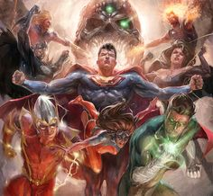 Crime Syndicate of Earth 3 by Xermanico