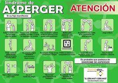 Es un folleto  que trata de informar a las familias de los  síntomas  que tienen los niños con Síndrome de Asperger y de esta manera pueden ...