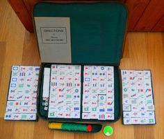 VINTAGE MAH JONG GAME/SET ~ SOLD ON MY EBAY SITE LUBBYDOT1