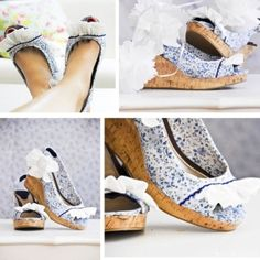 Mod Podge shoes!?! DIY by terrie