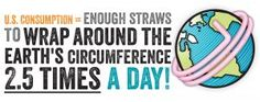 Plastic disposable straws are a tremendous source of pollution, with the equivalent of 125 school buses being filled daily with trashed straws in the USA. Bacardi wants people to refuse straws outright and has made several of its venues straw-free. Plateau Tv, World Earth Day, Save The Sea Turtles, Green Tips, Plastic Pollution, No Plastic, Plastic Waste, Paper Straws, Mindful Living