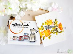 Very inspiring watercolor cards to get you started. Check out our blog to see more mind-blowing projects. http://www.altenew.com