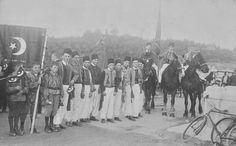 Osmanlı dönemi Almanya'da Türk öğrenciler.