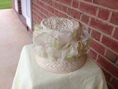 One of Mom's hats from the 60's; different angle.
