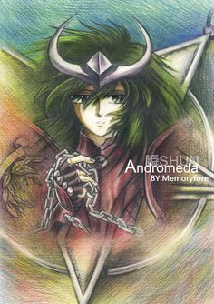 Andromeda Shun SAINT SEIYA by ~memoryfore on deviantART