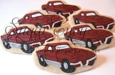 Cookie favors for my uncle's surprise 70th birthday party. Made to look like one of his cars. I did 30 of these and 30 of his 1937 Chevy. I had a tough time mixing the Maroon color. That is a pain to get right. I also wished that I would have left th http://bamboonets.com/netting-techniques-2/hand-nets/