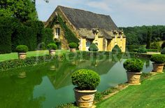 Eyrignac Chateau Gardens Dordogne France