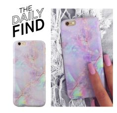"""""""The Daily Find: Velvet Caviar Phone Case"""" by polyvore-editorial ❤ liked on Polyvore featuring DailyFind"""