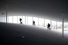 Rolex Learning Center Photographic Project - Johann Watzke, Anne-Fanny Cotting & Aurélie Mindel of EPFL