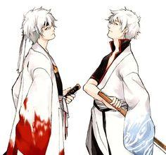 Gintoki the White Demon and Gintoki the Protector