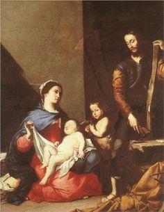 The Holy Family - Jusepe de Ribera