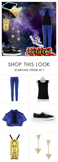 """Yu-Gi-Oh!"" by kittywolflove ❤ liked on Polyvore featuring Versus, Sandro Ferrone, Vans and ASOS"