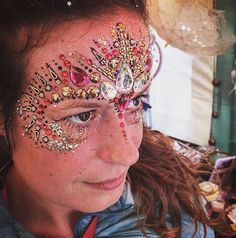 Facepaint and jewels
