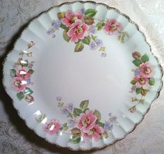 Love this one - it's China Rose by American Limoges. - Southern Vintage Table