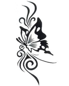 small mendhi butterfly tattoos - Google Search
