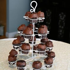 Cupcake Holder made by Mesa Home.- Love this everybody wants cupcakes.