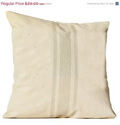 4th of July SALE Decorative Pillow Cover Organic by AmoreBeaute