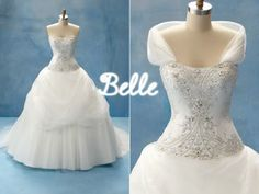 I've always wanted my wedding dress to look like Belle's from Beauty & the Beast!!!:) Love it so much!! My favorite princess!