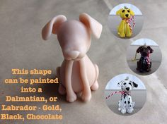I have been working on polymer clay sculpted dog breeds. These make Pur-fect Christmas ornaments and I was going to post these for Christmas but I ran out of time. Polymer Clay Cat, Polymer Clay Ornaments, Clay Cats, Jack Russell Dogs, Dog Crafts, Clay Design, Dry Clay, Clay Ideas, Dalmatian