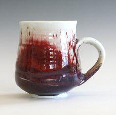 Porzellan Kaffeetasse handgemachte Keramik Tasse von ocpottery