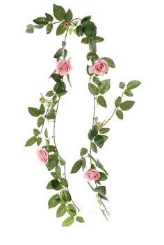 Guirlande de roses artificielles - Tati.fr