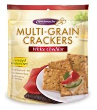 Crunchmaster Multigrain Gluten Free or Vegan Crackers Review and Giveaway