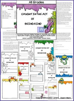 I've been doing a lot of thinking lately about our society and how divided we are, so I came up with the idea of this character building resource to help our children become kinder to one another and adults. You can do this with one classroom, your team or the entire school. To make it even more effective, it can be used at home with parents and siblings.