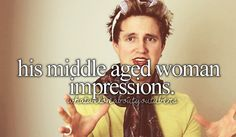 Marcus Butler's middle aged woman impressions