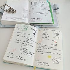 aki10notebook今のところ考えている来年の手帳の使い分けです(*´꒳`*) 今年は満足いくまで気になるものには手を出したので、お財布のためにも来年は少し落ち着きたい、、、。 ・ モレスキンポケットは、かっちりと一冊にまとまる感じが癖になるので捨てがたいのですが、スペースと紙質重視でこの一冊が終わったら、トラベラーズノートに戻ろうと思います٩( 'ω' )و2017/09/03 05:23:08