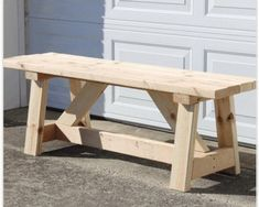 Handmade Wooden Bench/Rustic Bench Customize w/Your Choice of Color : Handmade Wooden Bench Customize w/Your Choice of Color Diy Furniture Plans Wood Projects, Diy Wood Projects, Furniture Making, Wood Bench Plans, Rustic Bench, Wooden Benches, Woodworking Furniture, Woodworking Basics, Fine Woodworking