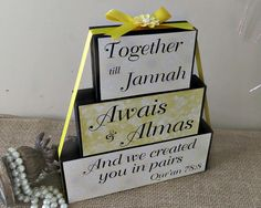 We Created You In Pairs Qur'an Quote - Personalized Muslim Wedding Gift Idea - Bridal Shower Gift - Islamic Wedding Gift - Anniversary Gift