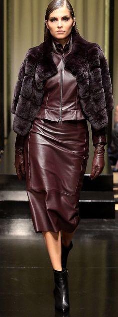 Leather like ...