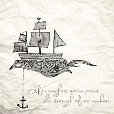 strength of anchors @ashtonweethee