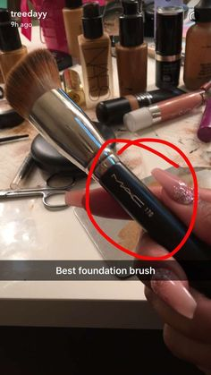 MAC 170 brush - Best Foundation brush