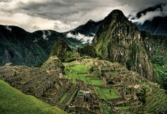 Machu Picchu is an ancient sacred place of Incas located in Peru on a mountain ridge. It is one of the most popular travel destinations. Oh The Places You'll Go, Places To Travel, Places To Visit, Machu Picchu, Peru, Destinations, Costa Rica Travel, Le Havre, South America Travel