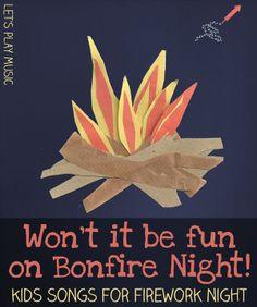 Won't it be Fun On Bonfire Night Circle Dance - Let's Play Music Let's Play Music – Won't It Be Fun on Bonfire Night – Kids Songs for Firework Night