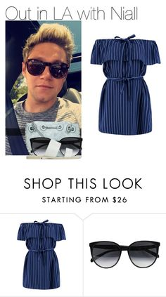 """""""Sin título #1097"""" by amandasets ❤ liked on Polyvore featuring Boohoo, CÉLINE and ASOS"""