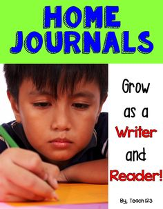 Looking for new homework ideas?  Have you tried home journals.  They are a great way to improve your students' writing and reading skills. I just added an EDITABLE (using Powerpoint) Home Journal packet that has a year's worth of writing homework for primary students.  paid