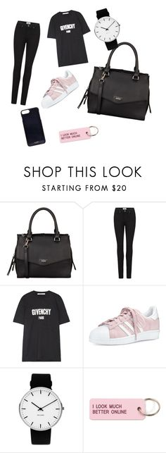 """""""Untitled #35"""" by arlem-cruz ❤ liked on Polyvore featuring Fiorelli, Paige Denim, Givenchy, adidas, Rosendahl, Various Projects and Vianel"""