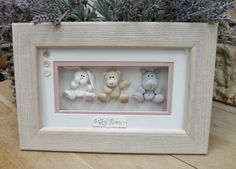 Personalised Nursery Picture ~ Polymer Clay