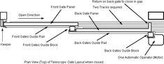 Imagini pentru bi fold gates for driveways Sliding Fence Gate, Front Gates, Entrance Gates, Sliding Doors, Fence Gates, Fences, Tor Design, Gate Design, Grill Door Design